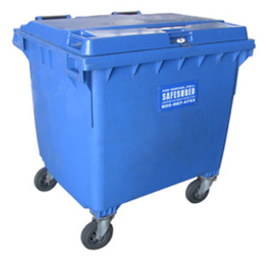 290 gallon bin