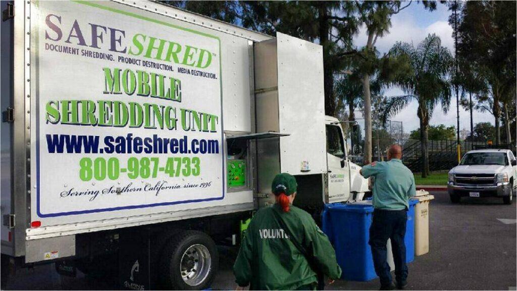 SafeShred truck