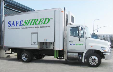 SafeShred Mobile Truck