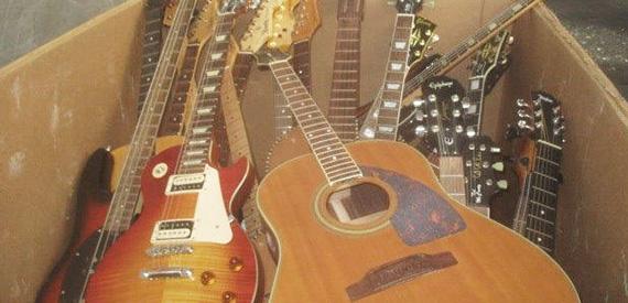 guitar destruction service